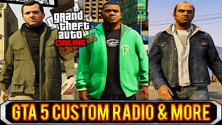 GTA 5 Next Gen Side Quests & Add Your OWN Music GTA 5 PC! (GTA 5 Gameplay)