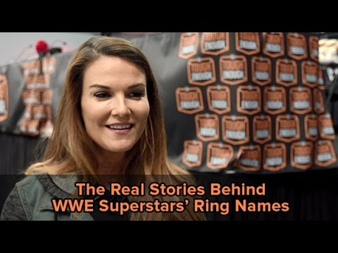The real stories behind your favorite WWE Superstars' ring names