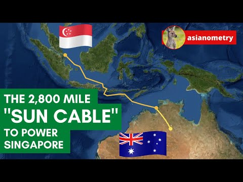 How Singapore Plans To Pipe Electricity From Australia