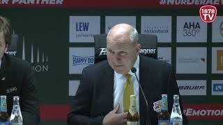 1878 TV | Pressekonferenz 16.12.2018 Augsburg-München 3:2