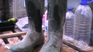 Hunter Wellingtons Repair