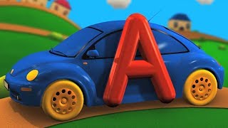 Learn Alphabets With Cars | ABC Song For Kids | Preschool Videos For Children