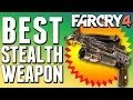 BEST STEALTH WEAPON in Far Cry 4 with Demonstration.