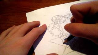 How To: Draw Bioshock Big Sister