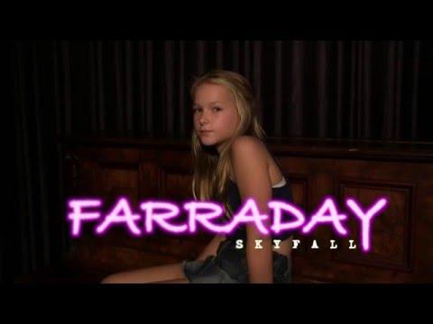 Farraday performs Skyfall .....