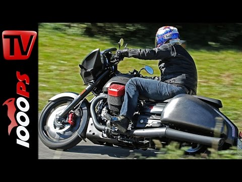 Moto Guzzi MGX-21 Flying Fortress Test 2016