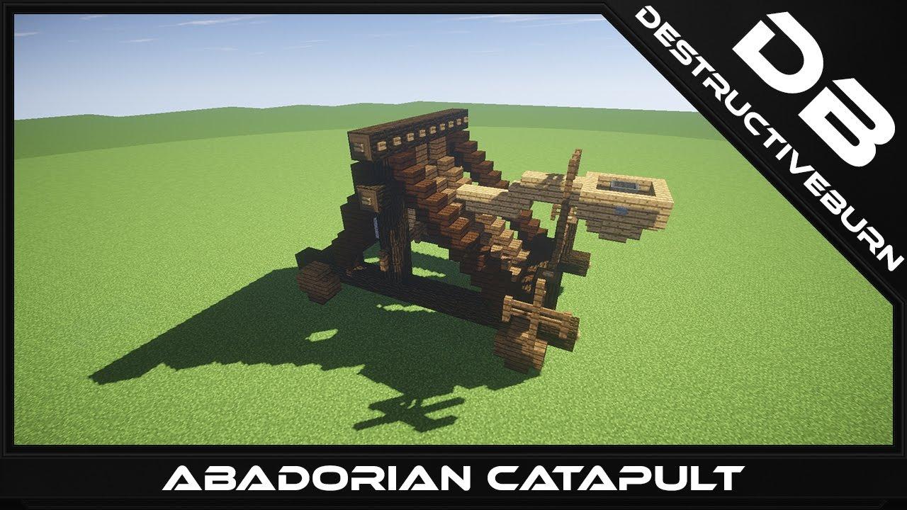 abadorian catapult minecraft schematic download