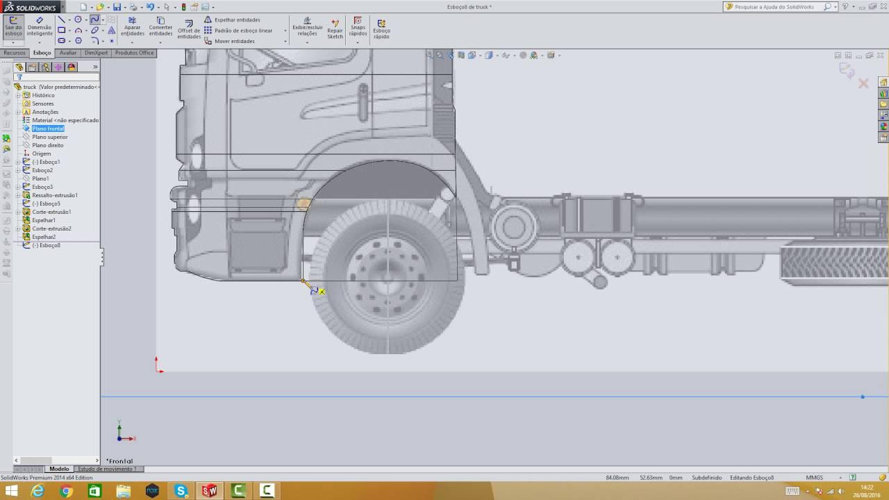 desenho de caminhão mercedes benz atron parte 2 youtube