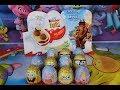 Toy Opening New Kinder Surprise Eggs Peppa Pig Spongebob Squarepants