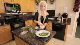 Raw Food Recipes: Lemon & Asparagus Angel Hair Pasta