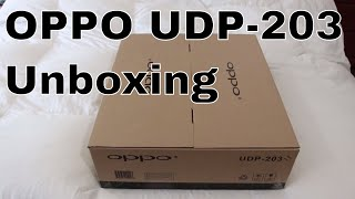 oppo 203 4K player unboxing and VS Oppo 103D