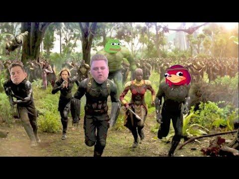 Avengers: Infinity War If It Had Dead Memes
