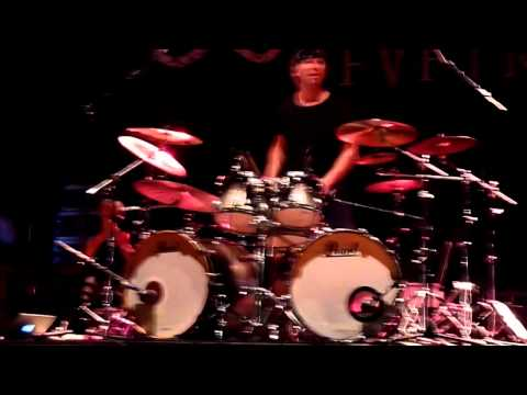 Alex Holzwarth From Rhapsody Of Fire Drum Solo Live @Trieste