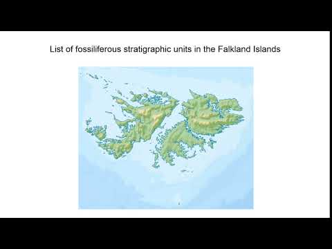 List Of Fossiliferous Stratigraphic Units In The Falkland Islands