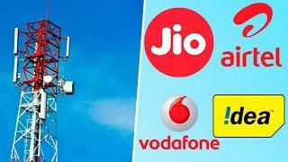 Jio vs Airtel vs Vodafone Idea | Fall of Indian Telecom Companies Expalined!