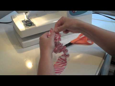 How to make a paper ruffle