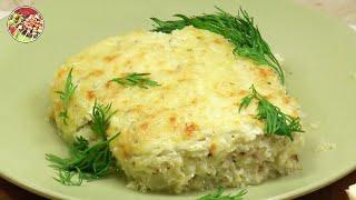 Запеканка (гратен) из цветной капусты и сыра. Просто! Вкусно! Недорого!