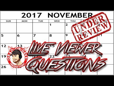 Recapping The Week, My Onision Cameo, N&J & More + Live Viewer Q&A