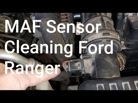 MAF Sensor Cleaning Ford Ranger