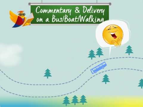 Lesson 6 - Commentary & Delivery on Bus/Boat/Walking Tour