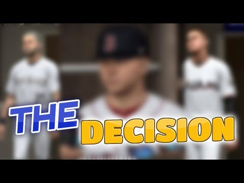 The Decision. FREE AGENCY! MLB The Show 17