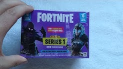 Fortnite Display unboxing Booster Karten opening Legendary Holo Outfit