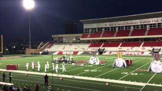 2015 Class 1A KMEA Finals Band Competition - Hazard Band of Gold (BOG) Field Show