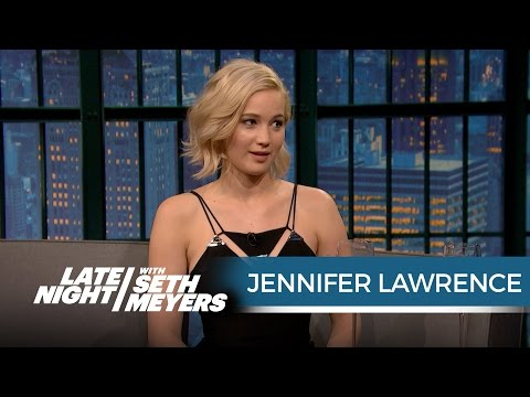 Thumbnail: Jennifer Lawrence Wanted Seth to Ask Her Out When She Hosted SNL - Late Night with Seth Meyers