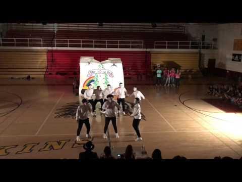 2017 Team White Tulare union High school Lip Sync Elite 8