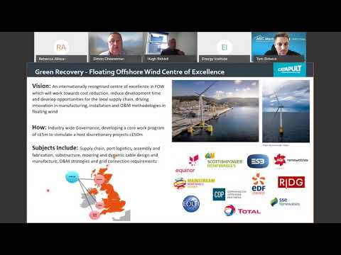 EI LIVE webinar   Game Changing Offshore Renewable Energy Projects