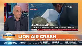 #GME | Indonesian divers recover crashed Lion Air Flight JT610's black box