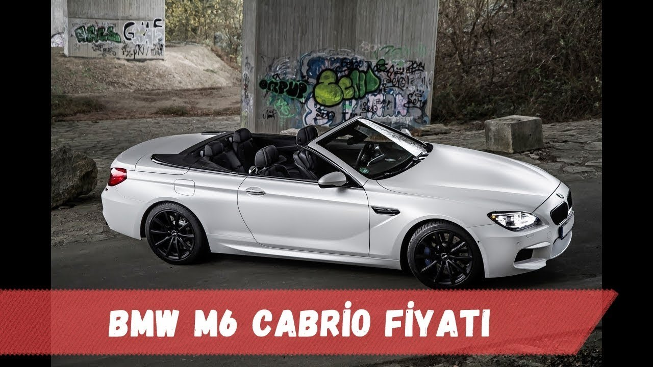 Bmw M6 Cabrio Fiyati 560ps Youtube