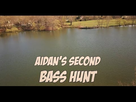 NYC Freshwater Fishing Early Spring Nassau County Long Island 5 Year Old Bass Hunt!