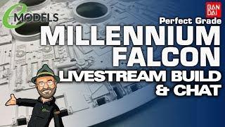 2PM BST 10/6/2020 Bandai Perfect Grade Millennium Falcon (#01206) LIVE BUILD STREAM