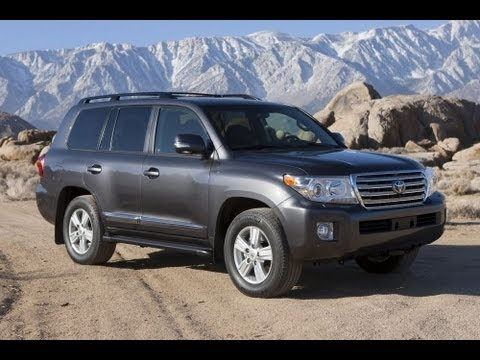 2013 Toyota Land Cruiser Start Up and Review 5.7 L V8
