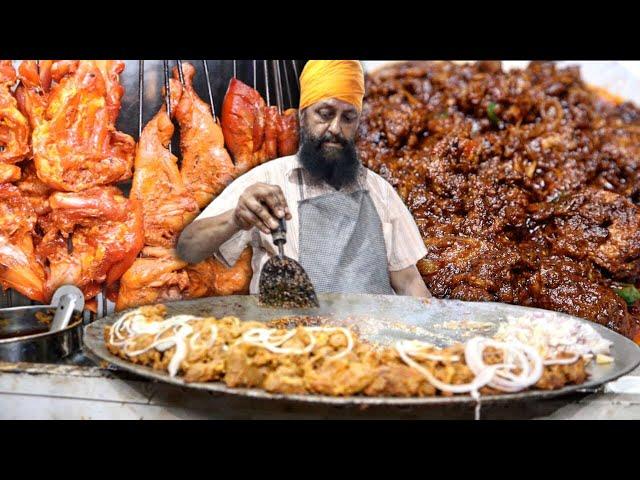 Gulabi Bagh Wale Sardar Ji ka Tawa Mutton Tikka