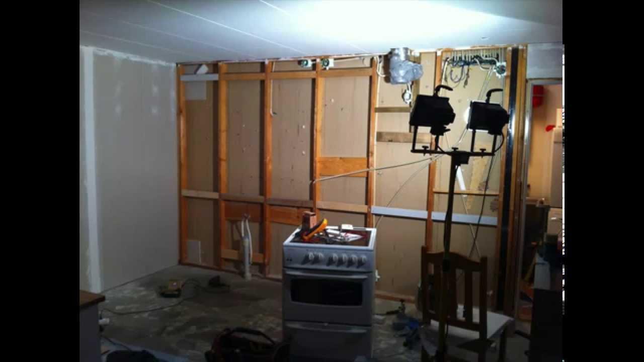 Kök Culimar : Bygga nytt kök building new kitchen