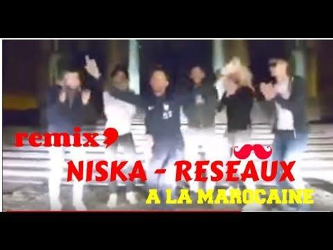 Remix Niska - réseaux a la Marocaine (clip)
