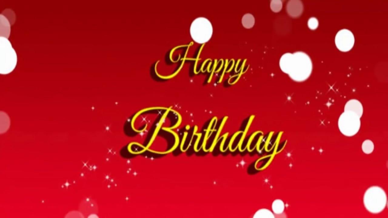 Happy birthday song youtube m4hsunfo Gallery