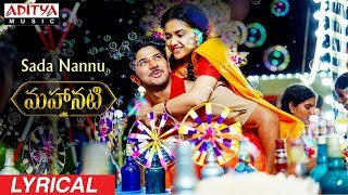 Telugutimes.net Sada Nannu Lyrical | Mahanati Songs