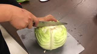 happy mijin cut cabbage