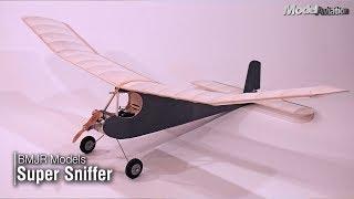BMJR Models Super Sniffer - Model Aviation