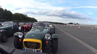 Lotus Seven Club - 60 Years of The Seven - Donington Parade Lap