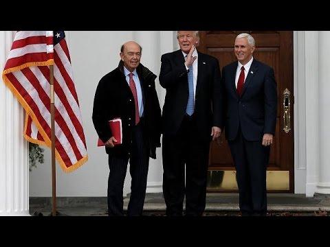 Ex-Goldman-Sachs-Banker StevenMnuchin wird neuer US-Finanzmninister