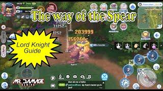 ROX - F2P Spear Lord Knight Guide - Ragnarok X Next Generation - The way of the Spear screenshot 4
