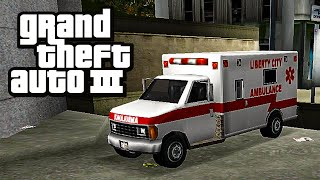 Grand Theft Auto III (PC) | Side Mission - Paramedic [12 Levels]