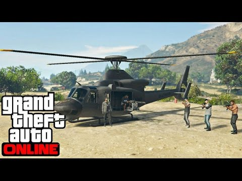 GTA V : VIDA DO CRIME | O GRANDE ROUBO DO HELICÓPTERO, O BON