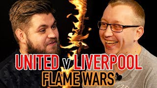 MANCHESTER UNITED V LIVERPOOL FLAME WARS 🔥| HOWSON (FTD) V CHRIS PAJAK (REDMEN TV) | SPORF