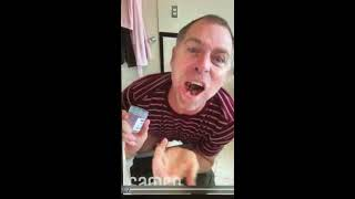 MTV JACKASS DAVE ENGLAND SHOUT OUT MY NEW STORE RIP & RUN COLLECTIBLES BUTLER New Jersey NJ
