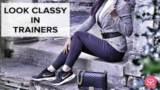 HOW TO WEAR TRAINERS & LOOK STYLISH | Luxury Styling | Sophie Shohet